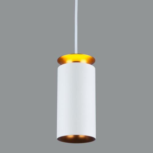 Накладной потолочный  светодиодный светильник DLS021 9+4W 4200К белый матовый/золото