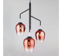 Подвесной светильник со стеклянными плафонами 50086/3 медь