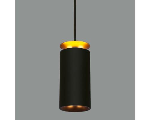 Накладной потолочный  светодиодный светильник DLS021 9+4W 4200К черный матовый/золото
