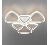 Потолочный светодиодный светильник с пультом управления 90216/6 белый