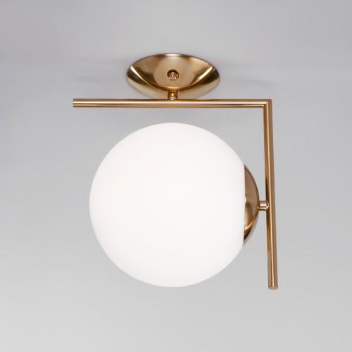 Настенно-потолочный светильник со стеклянным плафоном 70153/1