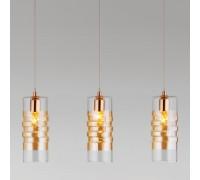 Подвесной светильник со стеклянными плафонами 50185/3 золото