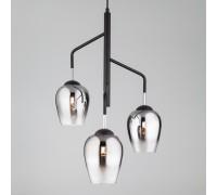 Подвесной светильник со стеклянными плафонами 50086/3 хром