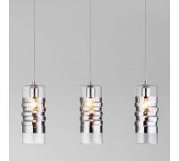 Подвесной светильник со стеклянными плафонами 50185/3 хром