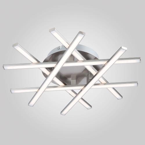 Потолочный светодиодный светильник 90021/6 сатин-никель