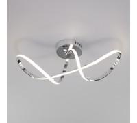 Потолочный светодиодный светильник с пультом управления 90112/1 хром