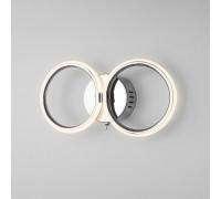 Настенный светодиодный светильник с выключателем 90146/2 хром