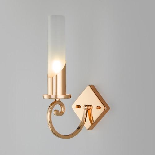 Классический настенный светильник 60117/1 золото