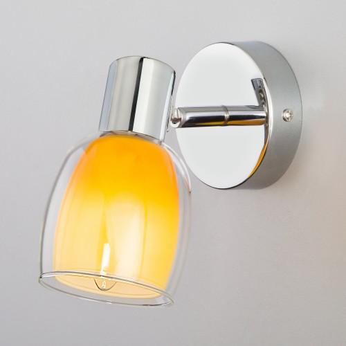 Настенный светильник с поворотным плафоном 20119/1 желтый
