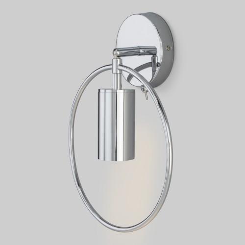 Настенный светильник с выключателем 20094/1 хром