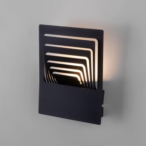 Onda LED чёрный  настенный светодиодный светильник MRL LED 1024