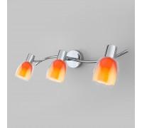Настенный светильник с поворотными плафонами 20119/3 оранжевый