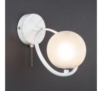 Настенный светильник 70089/1 белый с серебром