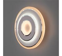 Настенный светодиодный светильник 90185/1 белый/хром
