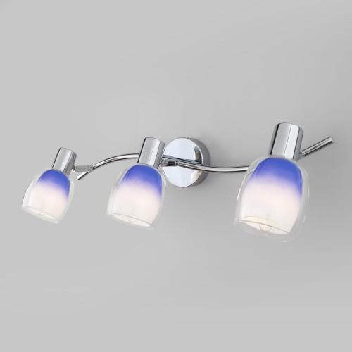 Настенный светильник с поворотными плафонами 20119/3 синий