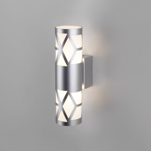Fanc LED серебро настенный светодиодный светильник MRL LED 1023