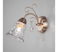 Настенный светильник 30157/1 античная бронза