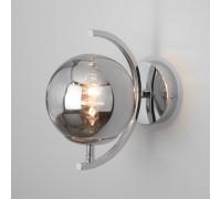 Настенный светильник со стеклянным плафоном 50072/1B хром