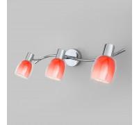 Настенный светильник с поворотными плафонами 20119/3 красный