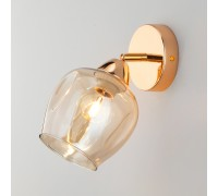 Бра со стеклянным плафоном 30164/1 золото