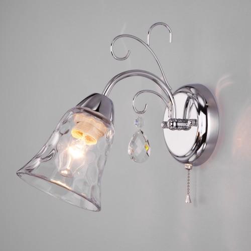 Настенный светильник 30157/1 хром