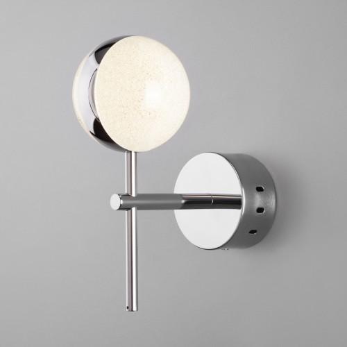 Настенный светодиодный светильник 90173/1 хром