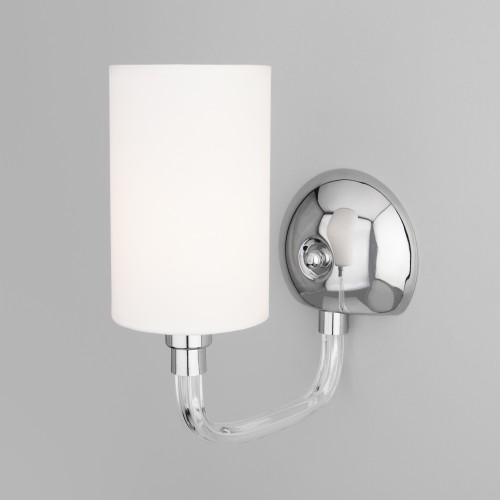 Настенный светильник с абажуром 60112/1 хром