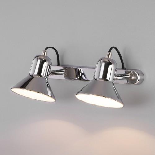 Настенный светильник с поворотными плафонами 20082/2 хром