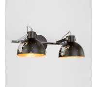 Настенный светильник с поворотными плафонами 20069/2 черный