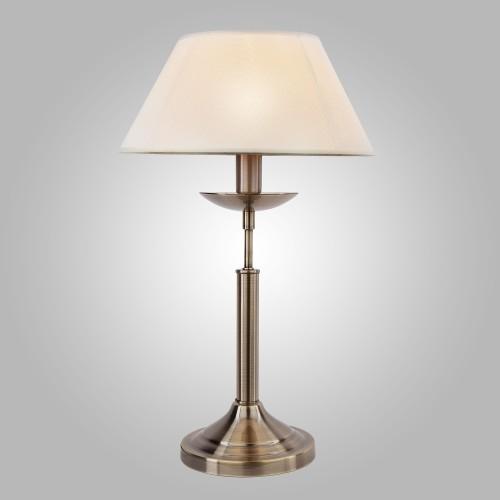 Настольная лампа 01010/1 античная бронза