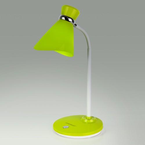 Настольный светильник с выключателем 01077/1 зеленый