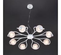 Подвесной светильник 70089/8 белый с серебром