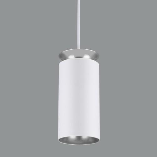 Накладной потолочный  светодиодный светильник DLS021 9+4W 4200К белый матовый/серебро