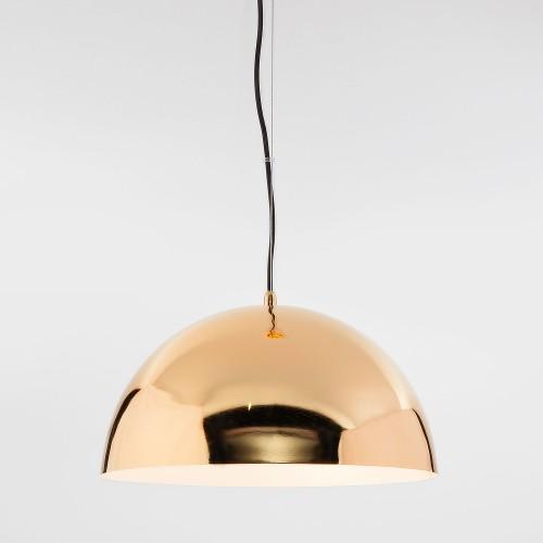 Подвесной светильник с золотым плафоном 50147/3 золото