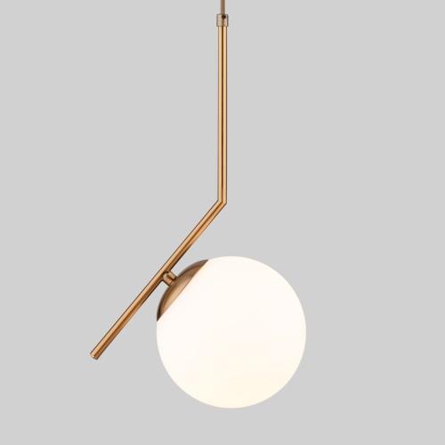 Подвесной светильник с длинным тросом 1,8м 50160/1 латунь