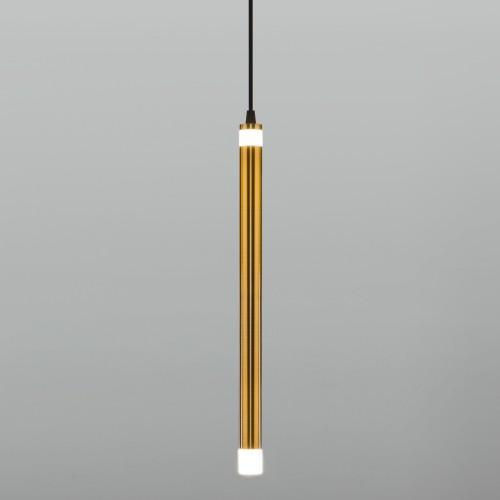 Подвесной светодиодный светильник 50133/1 LED бронза