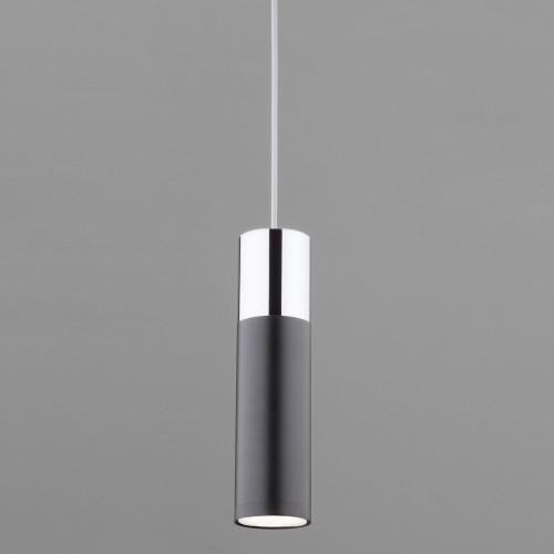 Подвесной светильник 50135/1 LED хром/черный