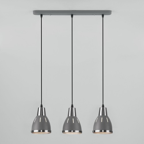 Подвесной светильник 50173/3 серый