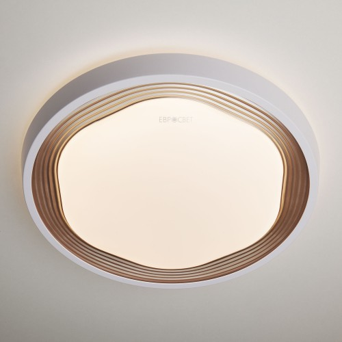 Накладной светильник с пультом 40005/1 LED кофе