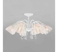 Потолочная люстра со стеклянными плафонами 30155/8 белый