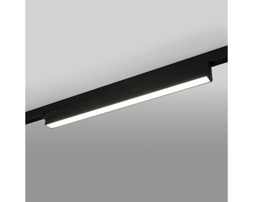 Светильник потолочный светодиодный X-Line черный матовый 28W 4200K LTB55