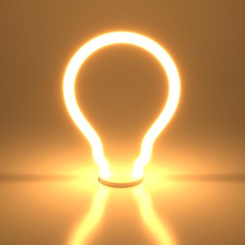 Декоративная контурная лампа Decor filament 4W 2700K E27 BL157
