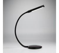 Светодиодная настольная лампа с гибким корпусом 80501/1 черный