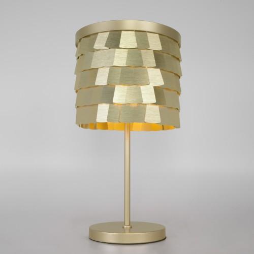 Настольная лампа с металлическим абажуром 01103/4