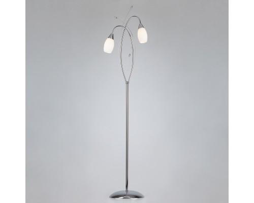 Напольный светильник 22080/2F хром
