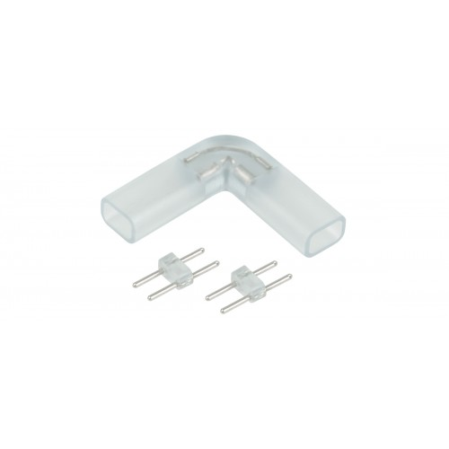 Аксессуары для светодиодной ленты Переходник для ленты 220V 3528 угловой (10 шт)