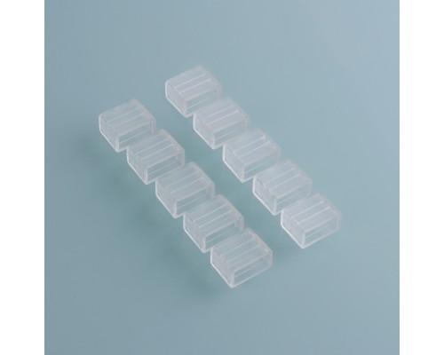 Заглушка для светодиодной ленты Premium универсальная 220V 2835 (10 шт.) End Cup 220V 2835