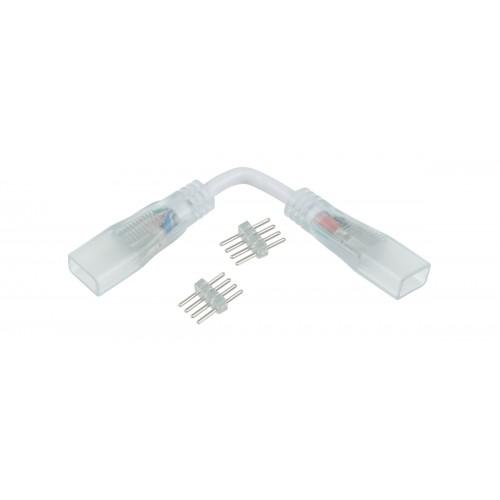 Гибкий переходник для светодиодной ленты RGB 220V 5050 (10 шт.) a035334