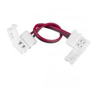 Коннектор для одноцветной светодиодной ленты 3528, 2835 гибкий двусторонний (10 шт.) a035715