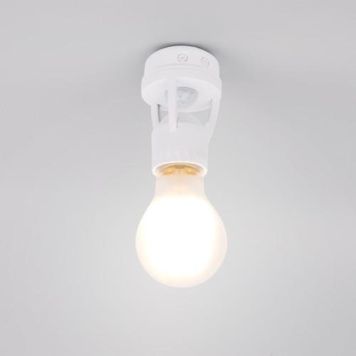 Инфракрасный датчик движения для ламп E27 SNS-M-15 6m 2-3.5m 60W E27 IP20 360 Белый SNS-M-15